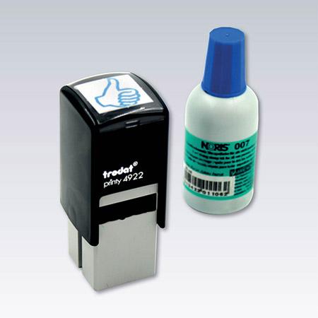 Svart, blå, röd eller osynlig UV märkning