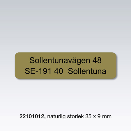 Satsyta: 33 x 7 mm, 1000 st./förp.