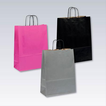 Påsar emballage färgade